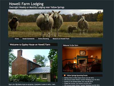 Howell Farm Lodging Screenshot for Listen to the Wind Media